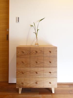 オリジナルの家具