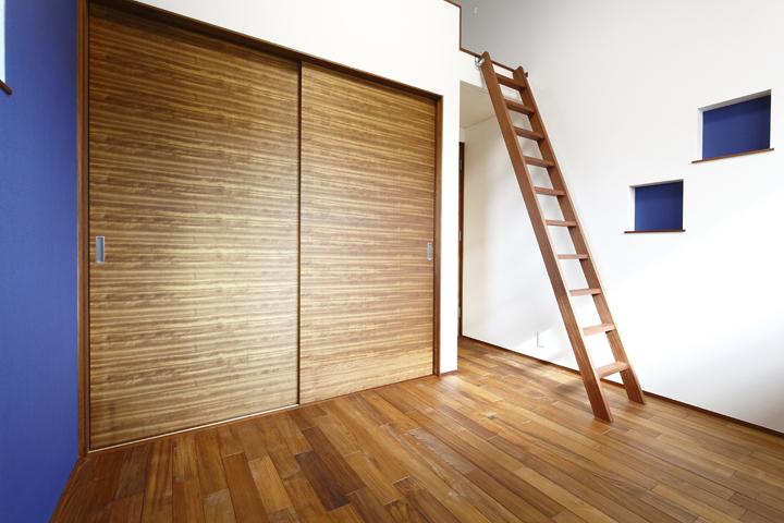 木の家 子供部屋