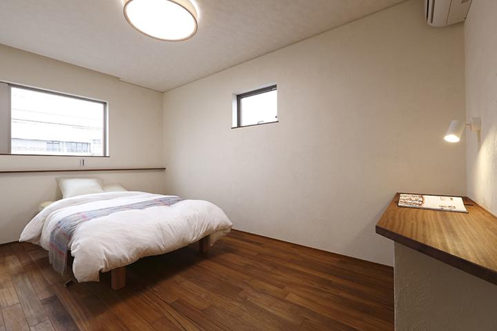 木の家 寝室