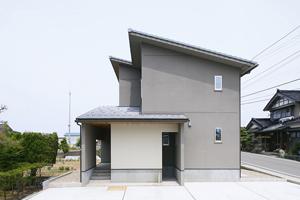 小松市大きいリビングの家
